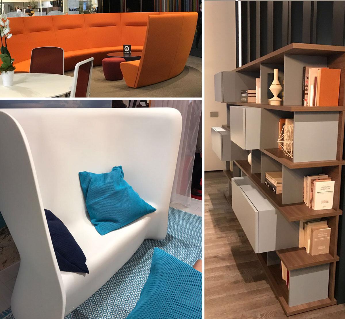 Sal n del mueble mil n 2017 interley interiores for Muebles de salon lacados
