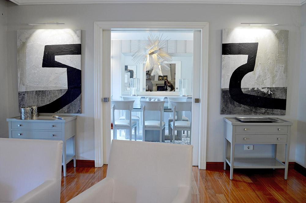 Reforma e interiorismo de chalet interley interiores - Interiorismo salon comedor ...