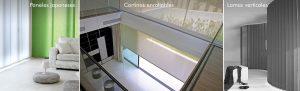 El control de la luz natural - paneles-japoneses-cortinas-enrollables-lamas-verticales