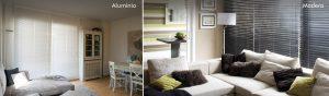 El control de la luz natural - venecianas-aluminio-y-de-madera