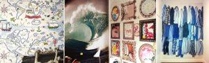 habitaciones papel pintado