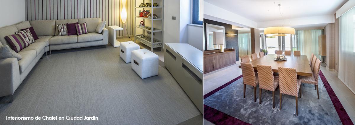 alfombras interiorismo ciudad jardin