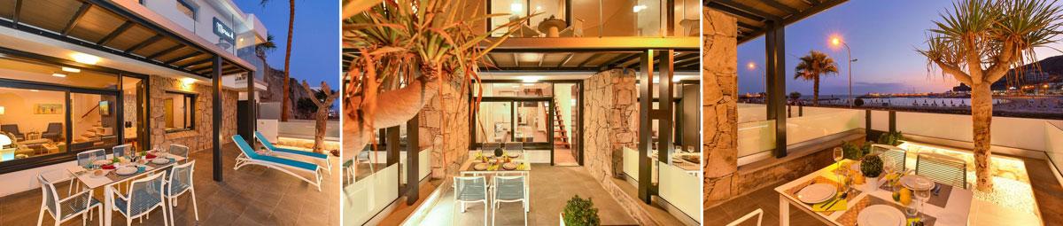 Interiorismo BeachFront Suites Morea espacios comunes