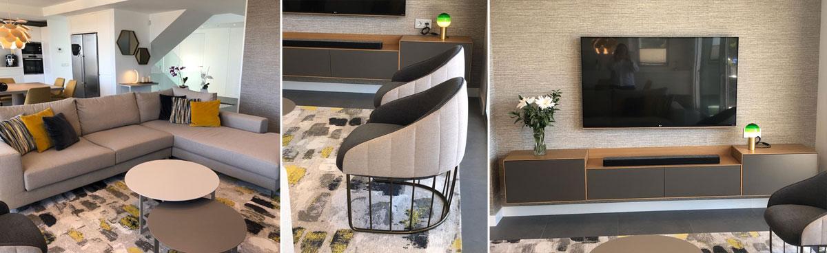 Interiorismo vivienda margazan salon